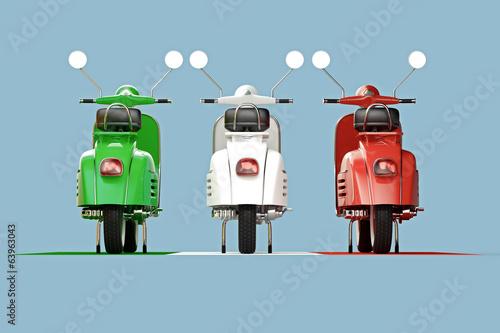 Italian scooters - 63963043