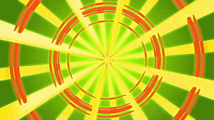 3d radial ray color background 1
