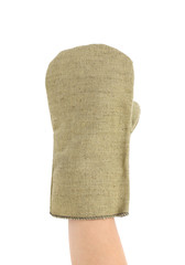 Protective glove.