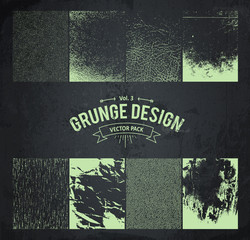 Grunge Design Elements Set 3