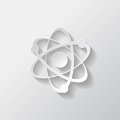 Molecule, atom icon