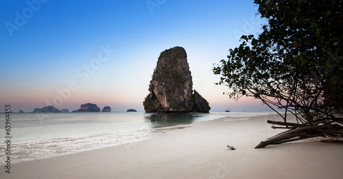 Ao nang beach, Railay, Krabi province, the best beach in Thailan