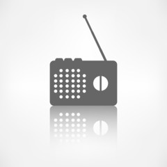 Radio web icon