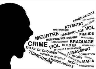 Cri delinquance