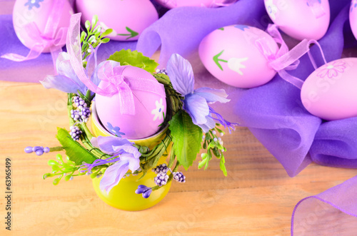 Easter decorative eggs