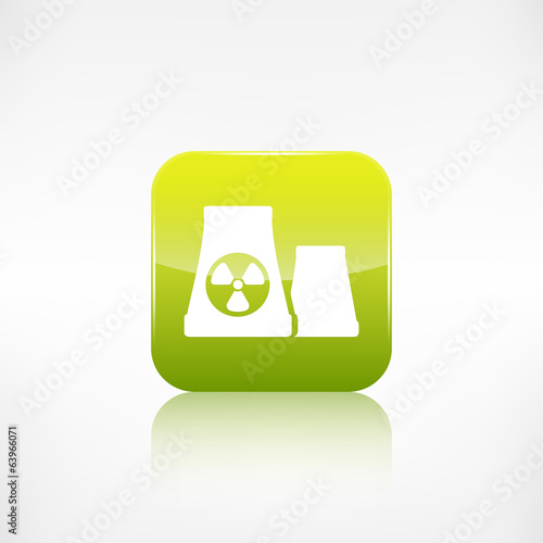 atomic power station icon