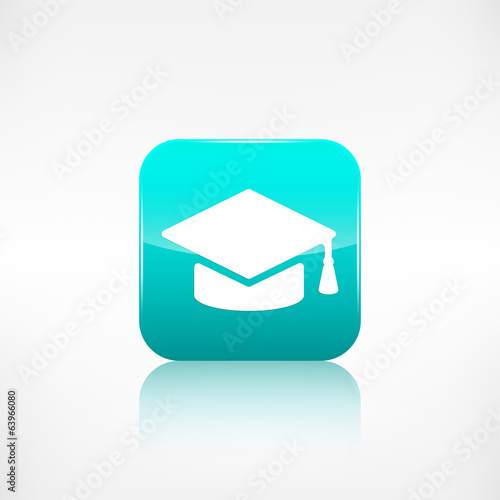 Academic cap icon.