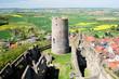 Burg Münzenberg - Stauferburg - westlicher Bergfried