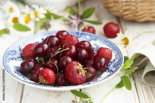 Summer berries