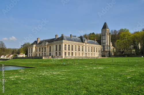 France, the castle of Mery sur Oise