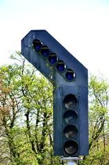 large set of railway lights