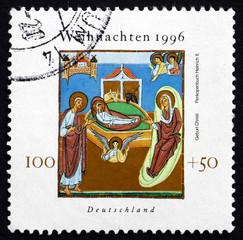 Postage stamp Germany 1996 Nativity, Christmas