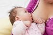 breastfeeding newborn baby