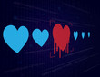 Heartbleed-Cyber security & Hacking Concept-Vector Background