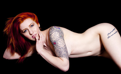 Nude Tattooed Woman