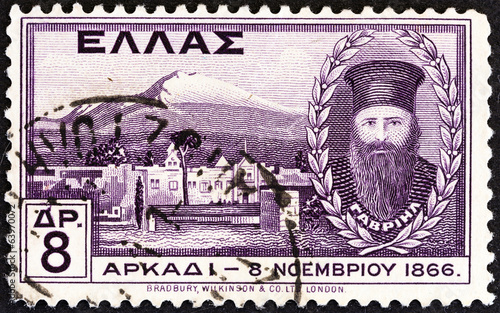 Abbot Gabriel and Arkadi monastery (Greece 1930)