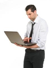 Ragazzo che usa il computer