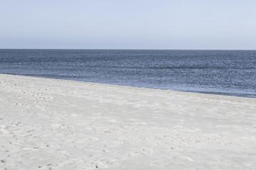Am Weststrand auf der Insel Sylt,Deutschland