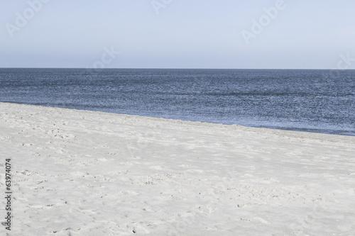 canvas print picture Am Weststrand auf der Insel Sylt,Deutschland