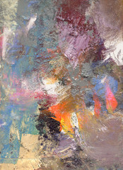 farben texturen leinwand pastos