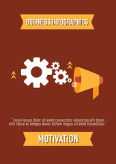 business Infographics, motivation
