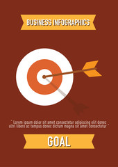 business Infographics, goal