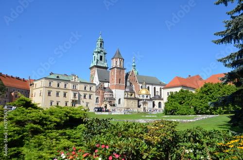 Obraz na Plexi Château royal du Wawel,Cracovie