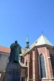 Statue de Józef Dietl, ancien maire de Cracovie
