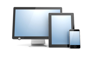 Monitor, tablet computer and mobile phone