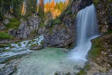 Waterfall in Dolomiti