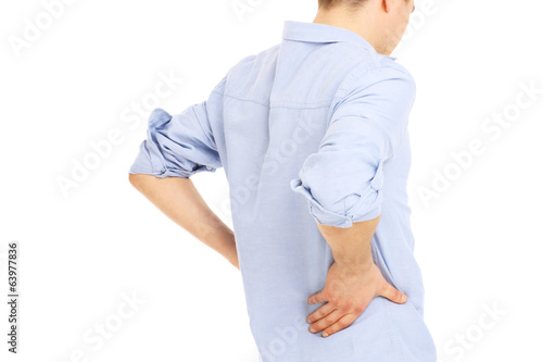 Man back pain