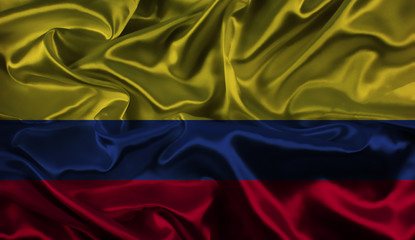 Colombian flag background