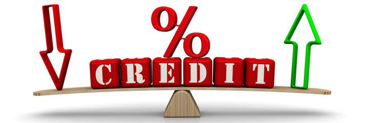 Изменение процента по кредиту