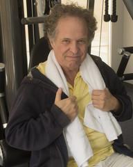 Senior at Gym