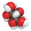 xylitol sugar substitute sweetener molecule