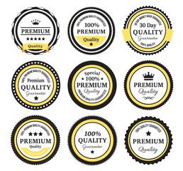 Vintage Quality Guarantee Badges
