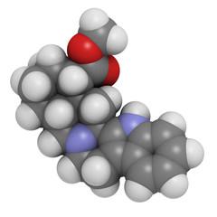 Yohimbine (presumed) aphrodisiac molecule.