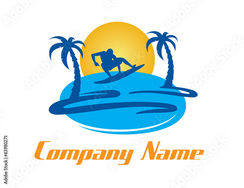 Surf logotype