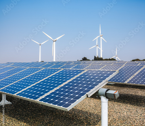 canvas print picture clean energy background