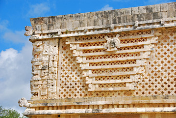 Nunnery Quadrangle in Uxmal