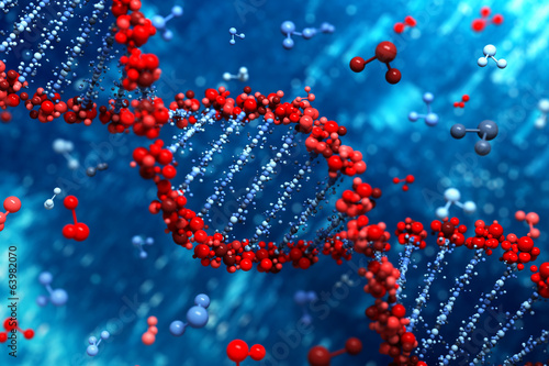Fototapeta DNA background