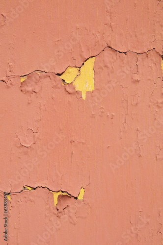 Colored Vintage Peeling Texture