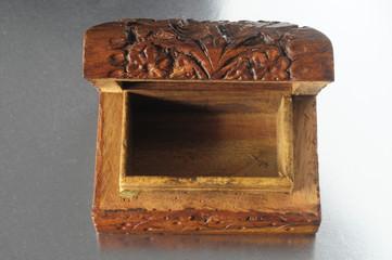 Handmade Ancient Vintage Wood Box
