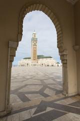 Great Mosque Hassan II in Casablanca, Morocco