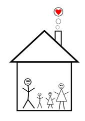 Logo Familie im Haus