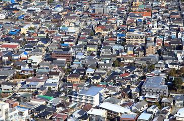 日本の家 住宅街