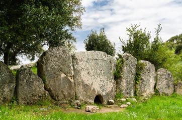 Sardegna, tomba dei giganti di Pascaredda