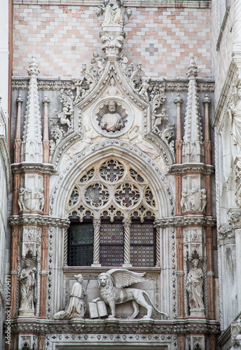 Details on Venice Church