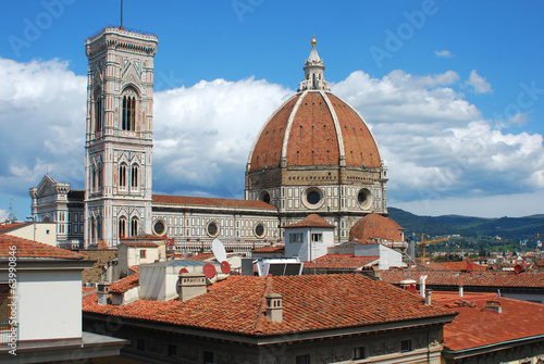 The Cathedral of Santa Maria del Fiore in Florence - Italy 655