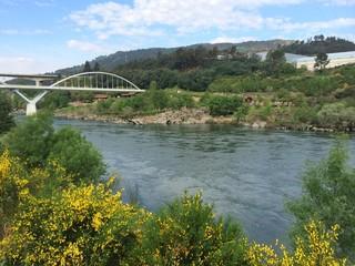 Minho river, Orense, Galicia